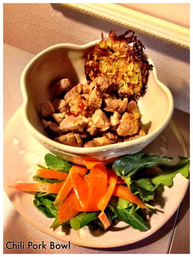 Chili Pork bowl
