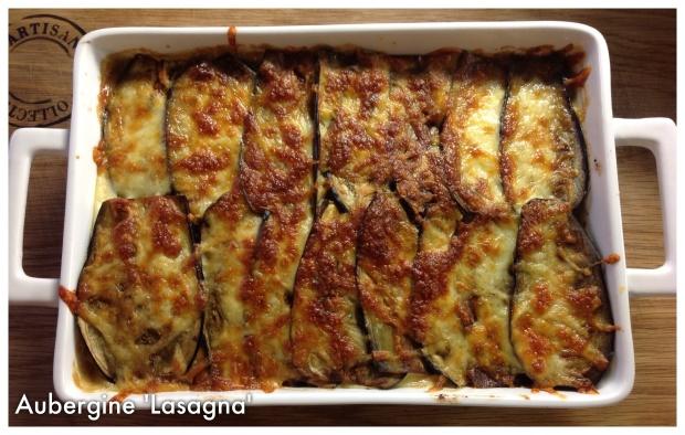 Aubergine lasagna