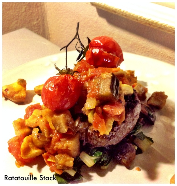 Ratatouille stacks