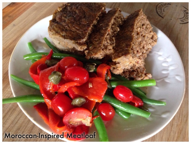 Moroccan-inspired meatloaf