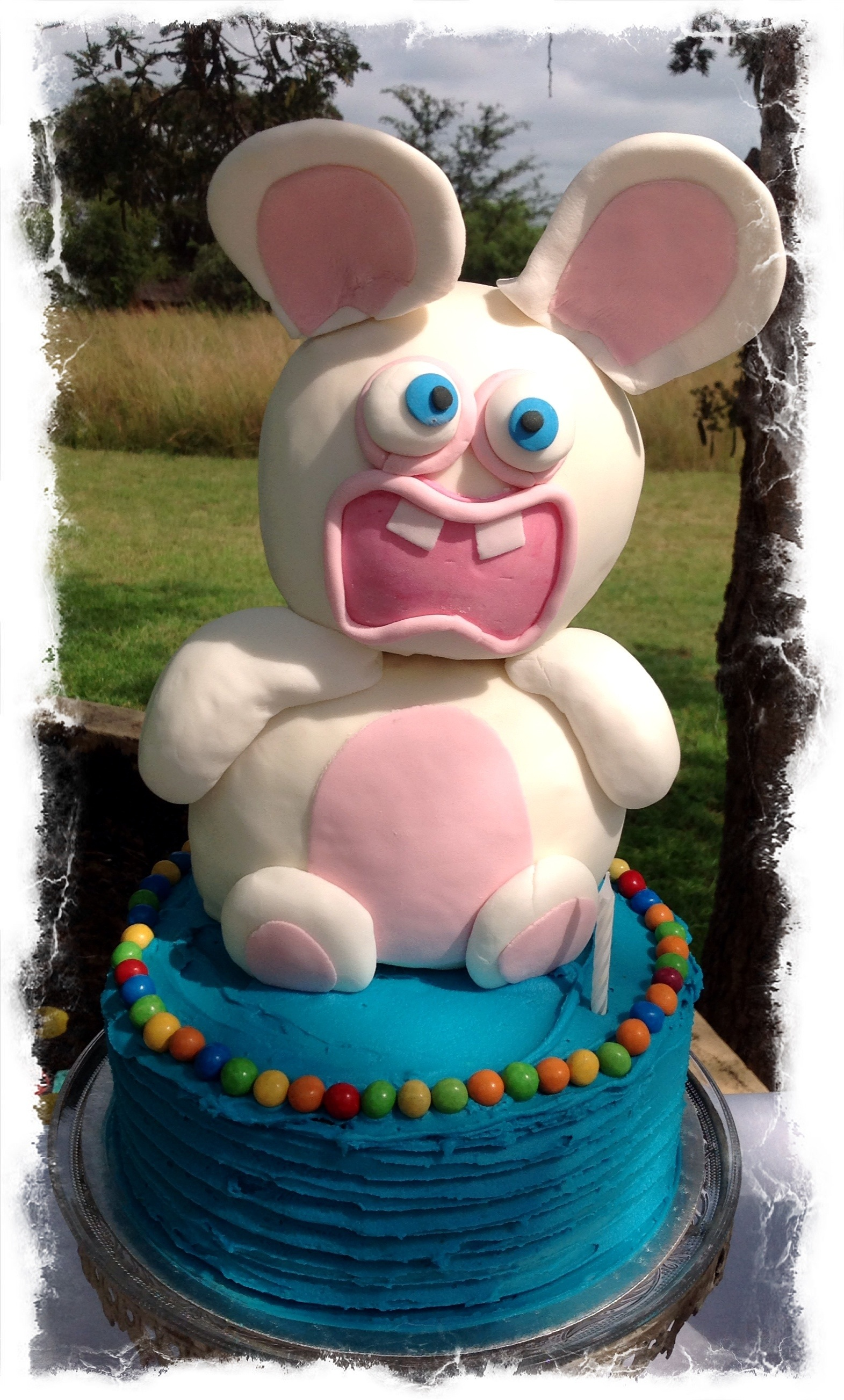 Rabbids Invasion Bespoke Custom Cakes Cupcakes For