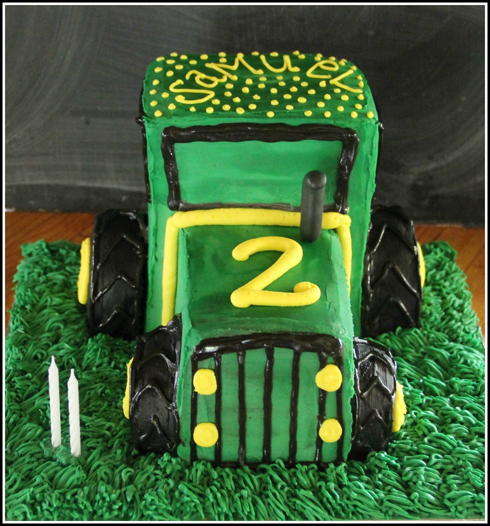 Tractor Birthday Cake Bespoke Custom Cakes Cupcakes For