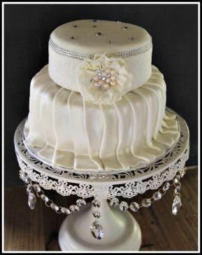 Carrot : Dark Chocolate Wedding cake