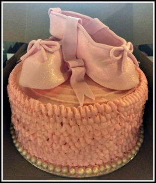 Pink Ballet Carrot Cake