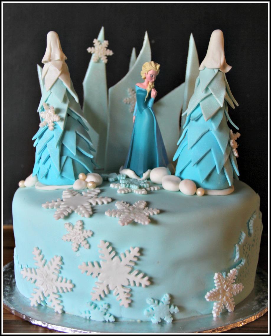 FrozenThemed Birthday Cakes bespoke custom cakes cupcakes