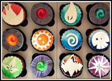 Skylanders cupcakes